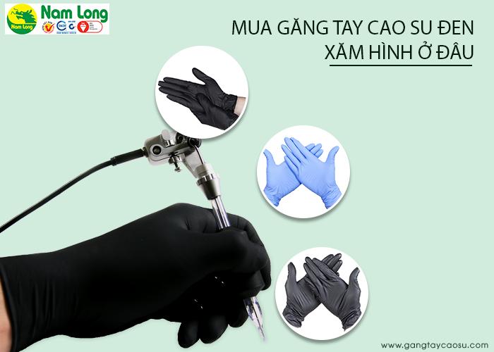 4-găng tay sao su den-c