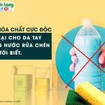 14 hóa chất cực độc gây hại cho da tay trong nước rửa chén, ít người biết