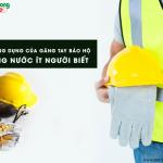 5 công dụng của găng tay bảo hộ chống nước, ít người biết
