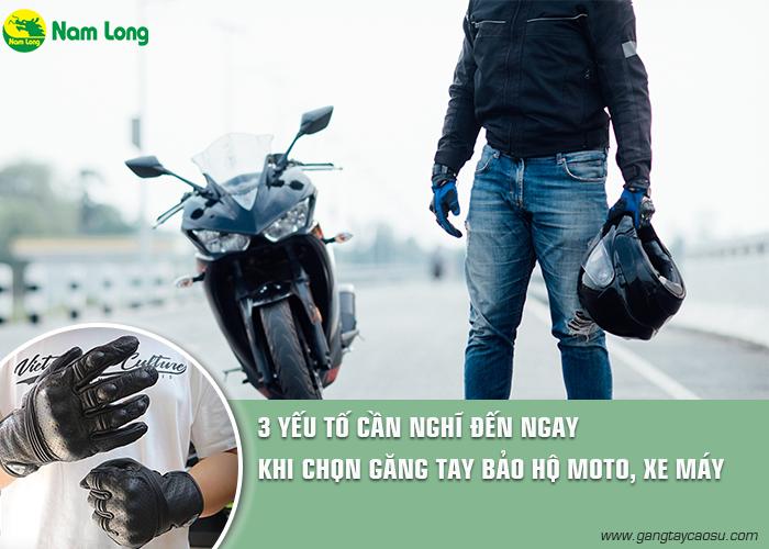 3 yếu tố bạn cần nghĩ ngay đến khi chọn găng tay bảo hộ môto, xe máy-1