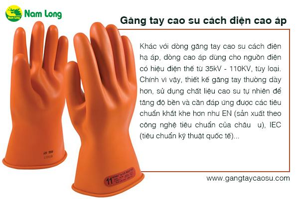 lựa chọn găng tay cao su cách điện phù hợp