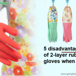 5 disadvantages of 2-layer rubber gloves when using
