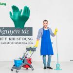 7 nguyên tắc cần chú ý khi sử dụng găng tay cao su vệ sinh nhà cửa