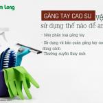 Dùng chung găng tay cao su vệ sinh nhà cửa: Tiết kiệm hay sai lầm?