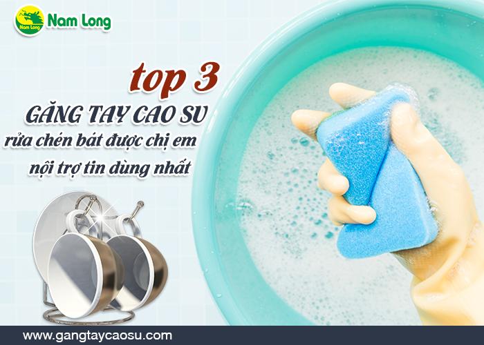 Top 3 găng tay cao su rửa chén bát được chị em nội trợ tin dùng nhất-1