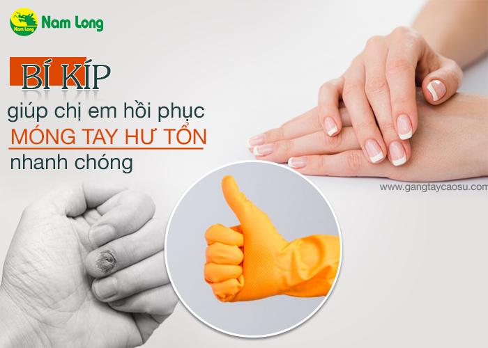 Bí kíp giúp chị em phục hồi móng tay bị hư tổn nhanh chóng-1