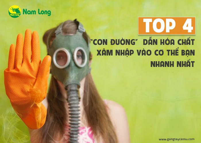 """Top 4 """"con đường"""" dẫn hóa chất vào cơ thể bạn nhanh nhất-1"""