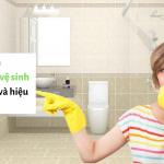 15 cách khử mùi nhà vệ sinh đơn giản và hiệu quả