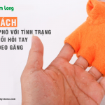 3 cách đối phó với tình trạng ra mồ hôi tay khi đeo găng tay