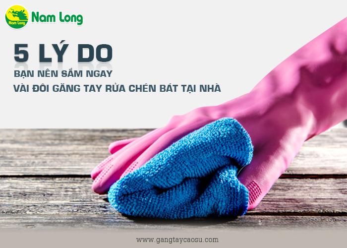 5 lý do bạn nên sắm ngay vài đôi găng tay rửa chén bát tại nhà-1