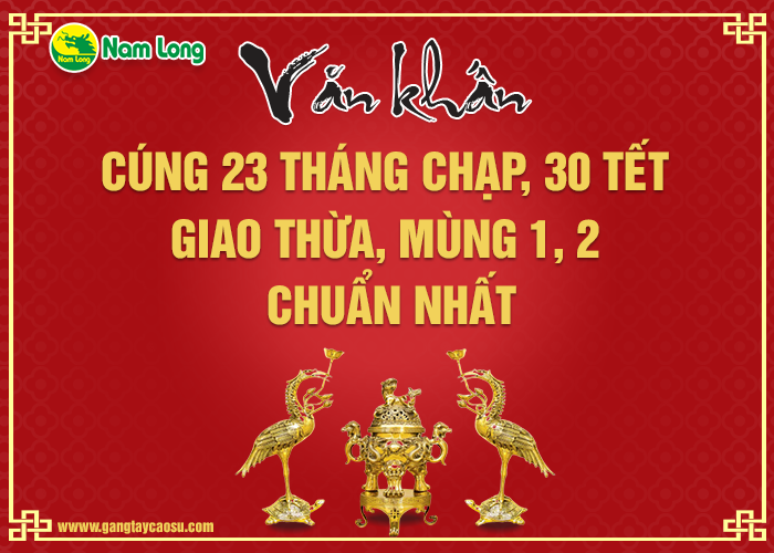 9 bài văn khấn, cúng vái trong dịp Tết cổ truyền Việt Nam
