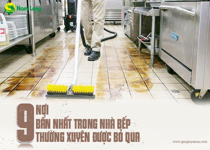 9 nơi bẩn nhất trong nhà bếp thường xuyên được bỏ qua-1