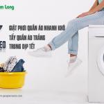 7 mẹo giặt, phơi quần áo nhanh khô, tẩy quần áo trắng trong dịp Tết