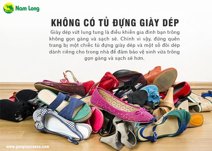 Có tủ giày dép sẽ giúp nhà bạn trở nên gọn gàng
