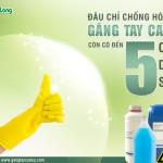Đâu chỉ chống hóa chất, găng tay cao su còn có đến 5 công dụng sau
