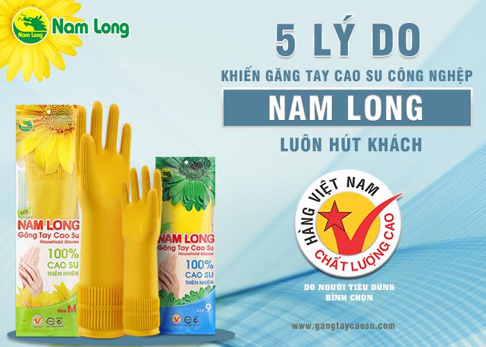 5 lý do khiến găng tay cao su công nghiệp Nam Long luôn hút khách-1