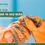 Hướng dẫn sử dụng và bảo quản găng tay cao su bảo hộ đúng cách