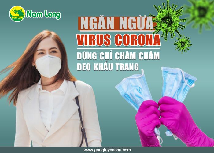Ngăn ngừa virus Corona Găng tay quan trọng hơn khẩu trang-1