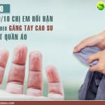 5 lý do khiến 9/10 chị em hối hận vì không đeo găng tay cao su khi giặt quần áo