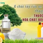 6 chất tẩy rửa an toàn thay thế thuốc tẩy, hóa chất độc hại