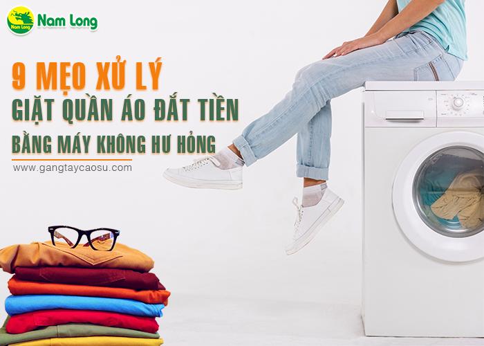 9 mẹo xử lý, giặt quần áo đặt tiền bằng máy giặt không hư hỏng-1