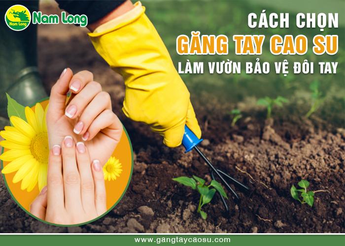 Cách chọn găng tay cao su làm vườn bảo vệ đôi tay-1