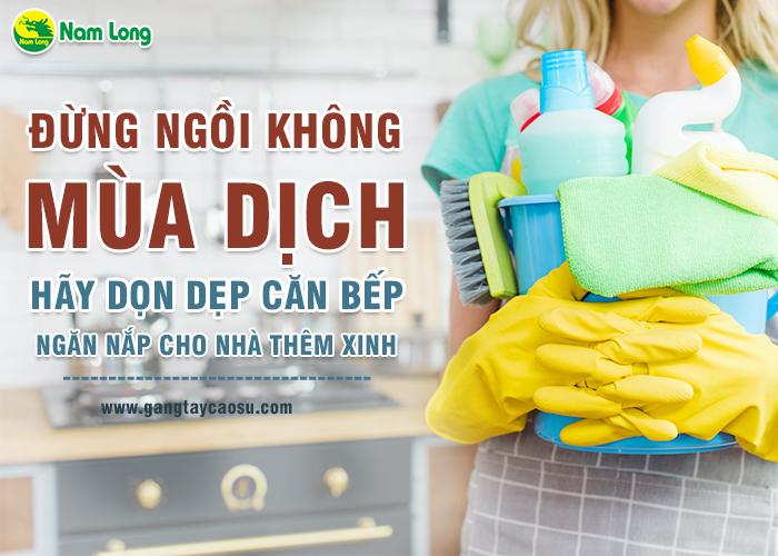 Đừng ngồi không mùa dịch, hãy dọn dẹp căn bếp ngăn nắp cho nhà thêm xinh-1