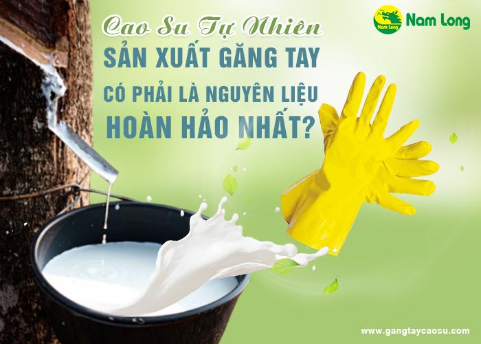 Cao su tự nhiên sản xuất găng tay có phải là nguyên liệu hoàn hảo nhất-1