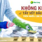 Hướng dẫn cách tẩy vết dầu mỡ trên bếp ga sạch như mới