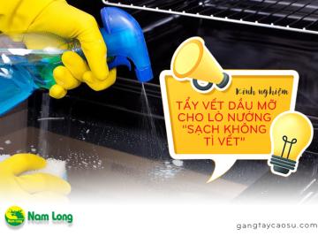 """Kinh nghiệm tẩy vết dầu mỡ cho lò nướng sạch không tì vết"""" (4)"""