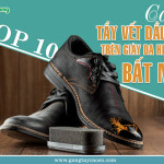 TOP 10 cách tẩy vết dầu mỡ trên giày da hiệu quả bất ngờ