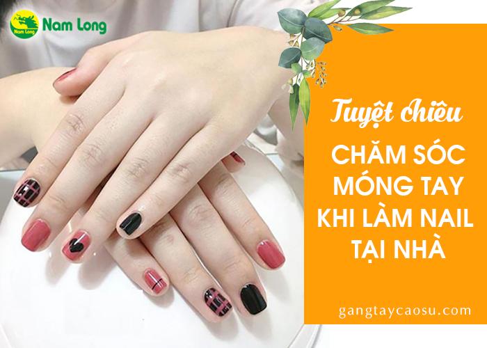 Chăm sóc móng tay sau khi làm nail (1)