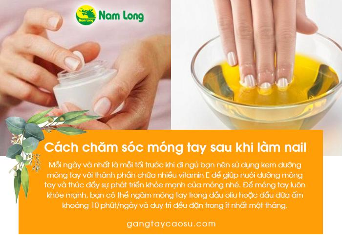 Chăm sóc móng tay sau khi làm nail (3)