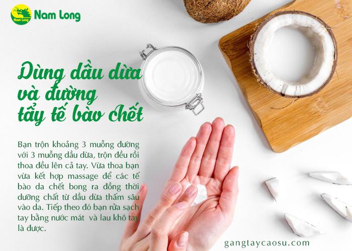 Chỉ bạn cách chăm sóc da tay bằng dầu dừa hiệu quả (3)