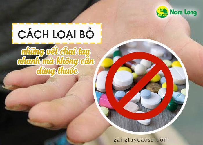 Cách để loại bỏ hết những vết chai tay nhanh mà không cần dùng thuốc (1)