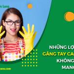 Những lợi ích tuyệt vời mà găng tay cao su không bột mang lại