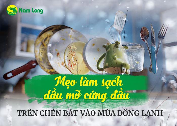 Mẹo làm sạch dầu mỡ cứng đầu trên chén bát vào mùa đông lạnh (1)