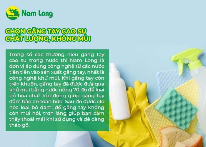 Mách bạn 2 cách khử mùi găng tay cao su hiệu quả nhất (2)