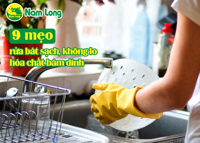 9 mẹo rửa bát sạch - 01
