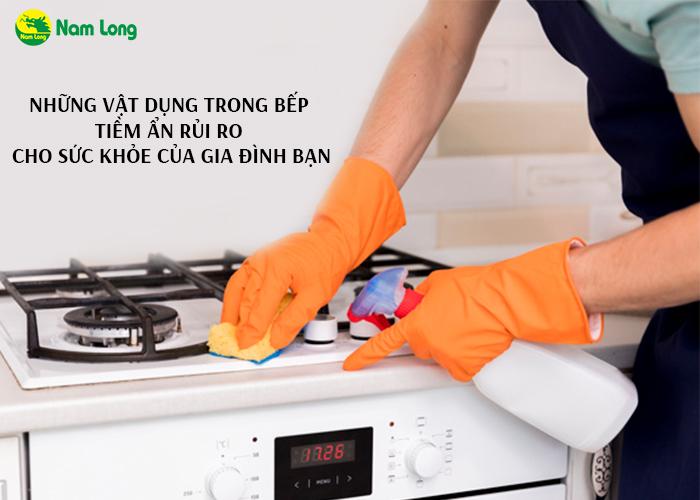 Những vật dụng trong bếp tiềm ẩn rủi ro cho sức khỏe của gia đình bạn - 01