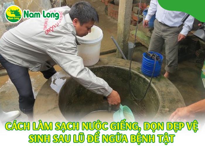 cách làm sạch nước giếng - 01