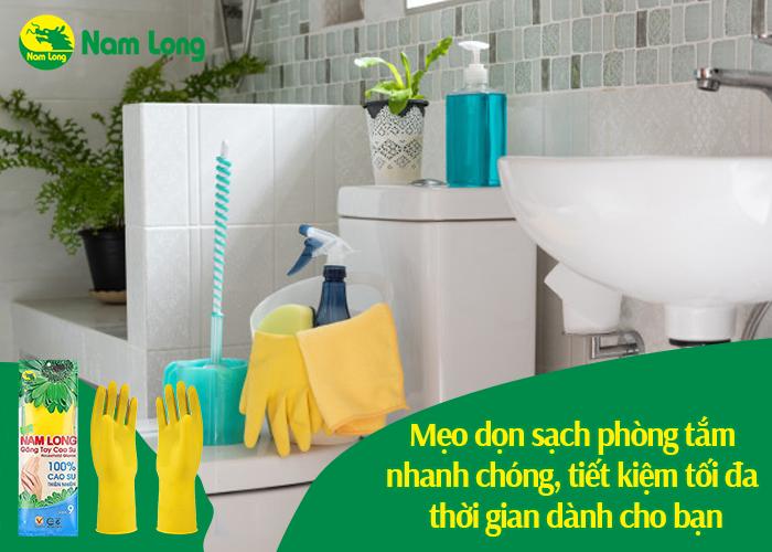mẹo dọn sạch phòng tắm - 01