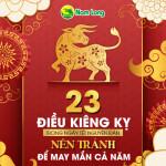 Những điều kiêng kỵ trong ngày Tết Nguyên Đán, đầy đủ và chi tiết nhất nên tránh để may mắn cả năm