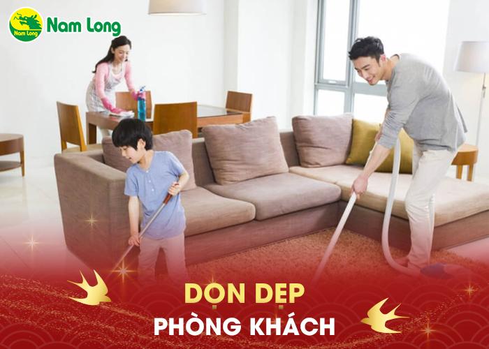 Dọn dẹp phòng khách - 04