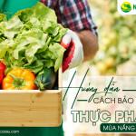 Hướng dẫn cách bảo quản thực phẩm mùa nắng nóng